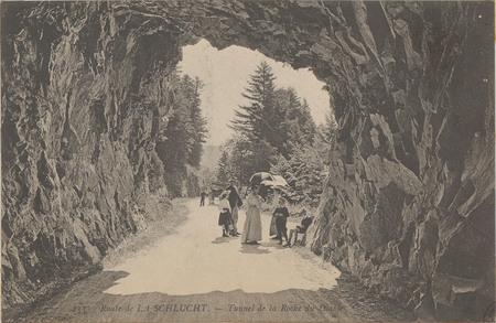 Route de la Schlucht, Tunnel de la roche du Diable