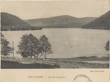 Gérardmer, Lac de Longemer