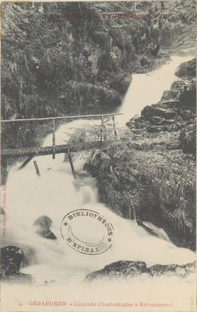 Gérardmer, Cascade Charlemagne à Retournemer