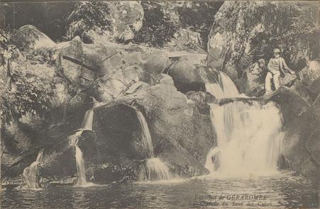 Environs de Gérardmer, La Cascade du saut des cuves