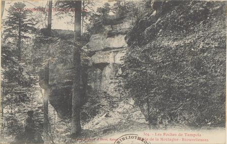 Les Roches de Tampois, Vallée de la Mortagne, Brouvelieures