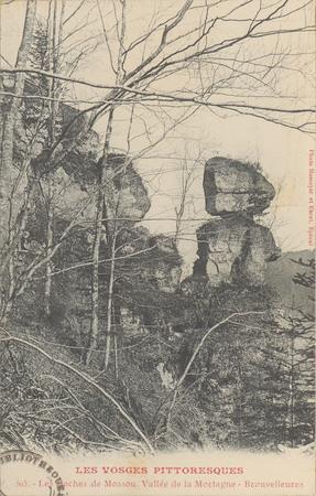Les Roches de Mossou, Vallée de la Mortagne, Brouvelieures