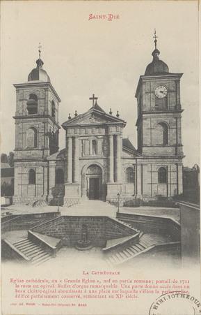 Saint-Dié, La Cathédrale […]