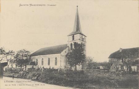 Sainte-Marguerite (Vosges), L'Église […]