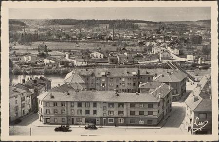 [Châtel-sur-Moselle, Vue générale du quartier du Saulcy]