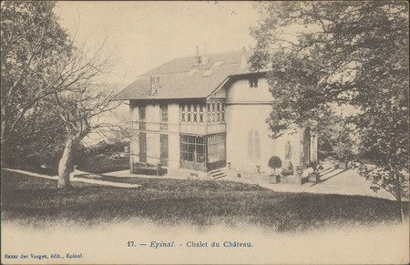Épinal, Chalet du Château