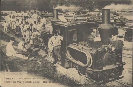 Épinal, Le Chemin de fer militaire