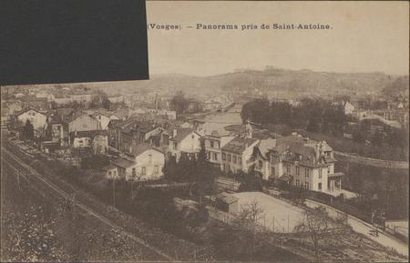[Épinal] (Vosges), Panorama pris de Saint-Antoine
