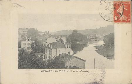 Épinal, La Petite ville et la Moselle