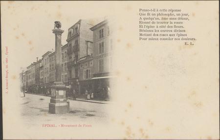 Épinal, Monument de Pinau