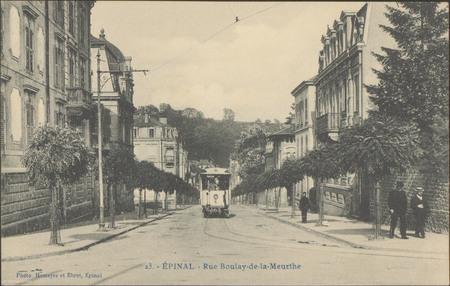 Épinal, Rue Boulay-de-la-Meurthe