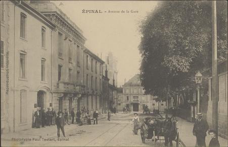 Épinal, Avenue de la gare