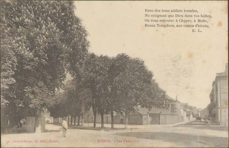 Épinal, Les Templiers