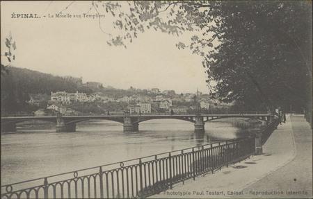 Épinal, La Moselle aux Templiers