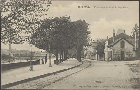 Épinal, Promenade du quai de Dogneville
