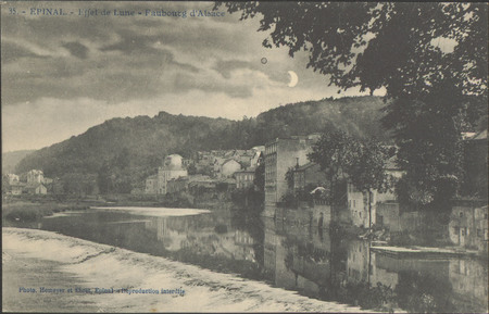 Épinal, Effet de lune, Faubourg d'Alsace