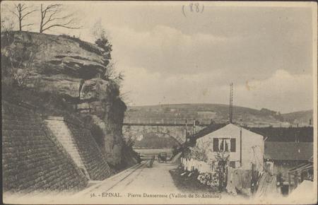 Épinal, Pierre Danserosse (Vallon de Saint-Antoine)