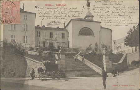 Épinal, L'Hôpital