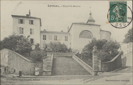 Épinal, Hôpital St-Maurice