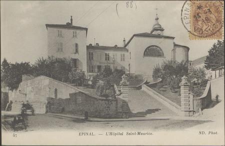 Épinal, L'Hôpital Saint-Maurice