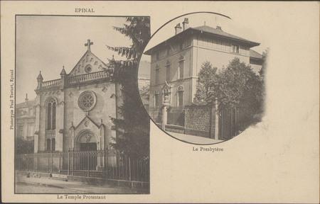 Épinal, Le Temple protestant, Le Presbytère