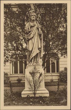 [Épinal, Institution St-Joseph, Statue]