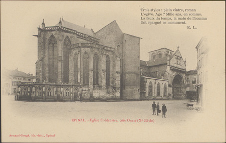 Épinal, Église St-Maurice […]
