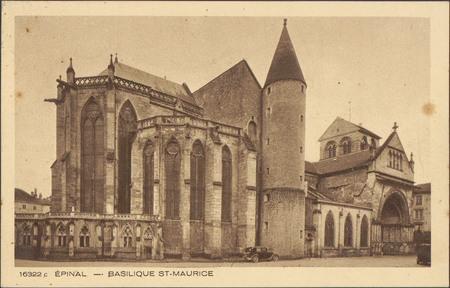 Épinal, Basilique St-Maurice
