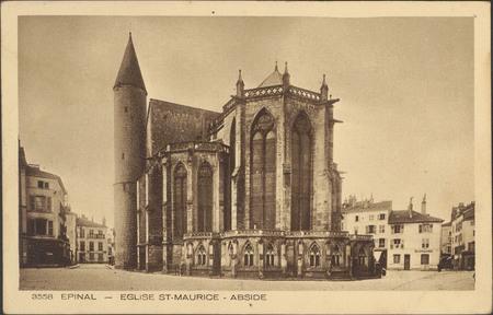Épinal, Église Saint-Maurice, Abside