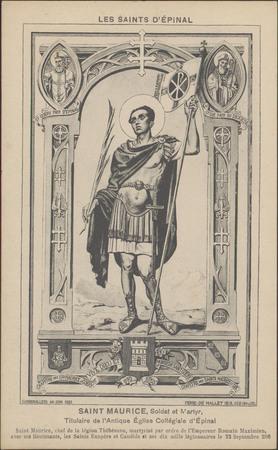 Saint-Maurice, soldat et martyr […]