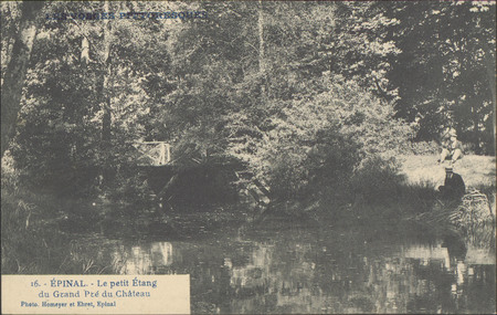 Épinal, Le Petit étang du grand pré du Château