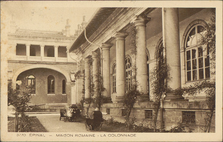 Épinal, Maison romaine, La Colonnade