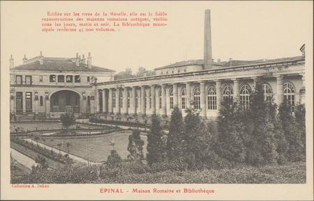 Épinal, Maison romaine et bibliothèque […]