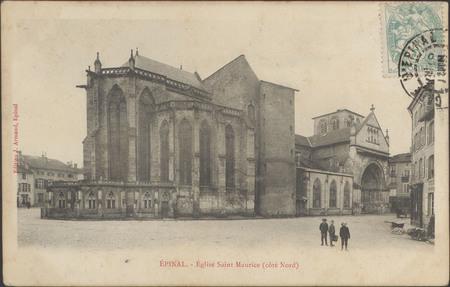 Épinal, Église Saint-Maurice (côté nord)