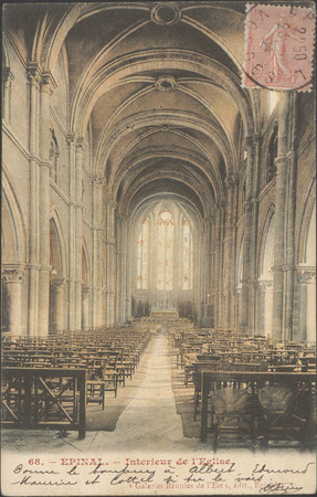 Épinal, Intérieur de l'Église