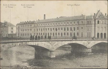 École de Filature et Tissage, École Industrielle des Vosges, Collège d'Épi…