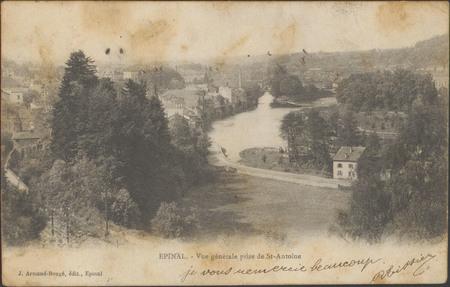 Épinal, Vue générale prise de St-Antoine