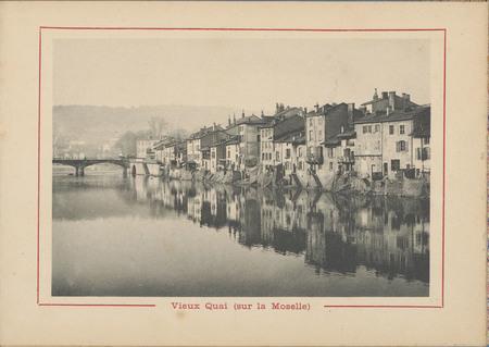 Vieux quai (sur la Moselle)