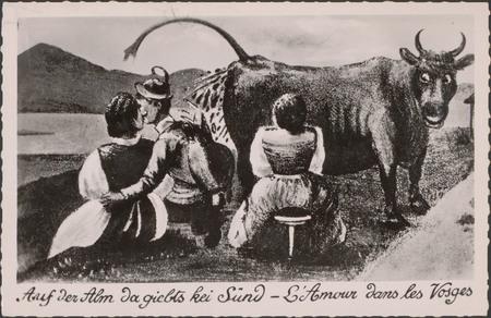 Auf der Alm da giebts kei sünd - L'Amour dans les Vosges