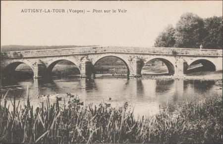 Autigny-le-Tour (Vosges), Pont sur le Vair