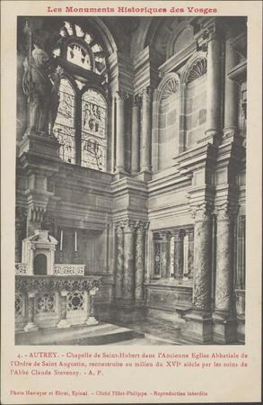 Autrey, Chapelle de Saint-Hubert […]