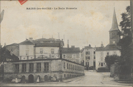 Bains-les-Bains, Le Bain romain