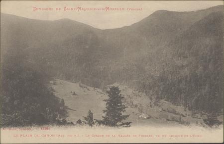 Environs de Saint-Maurice-sur-Moselle (Vosges), Le Plain du Canon, Le cirq…