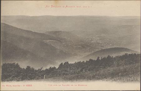 Vue sur la Vallée de la Moselle