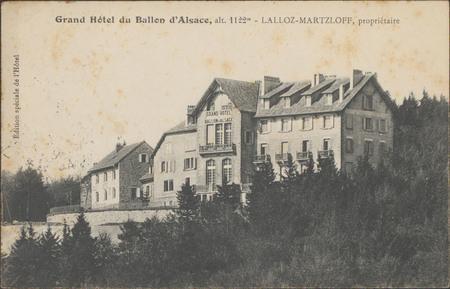 Grand Hôtel du Ballon d'Alsace […]