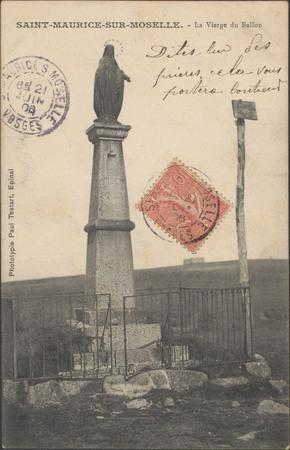 Saint-Maurice-sur-Moselle, La Vierge du Ballon