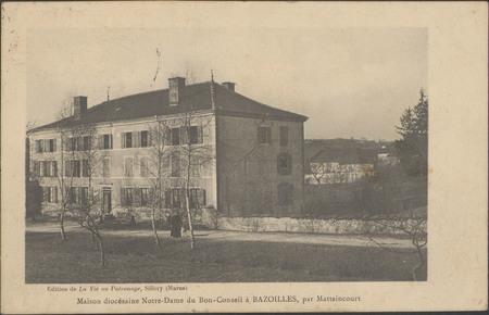 Maison diocésaine Notre-Dam du Bon-Conseil à Bazoilles par Mattaincourt