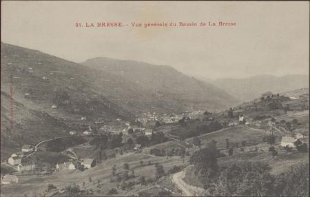 La Bresse, Vue générale du Bassin de La Bresse