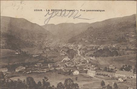 La Bresse (Vosges), Vue panoramique
