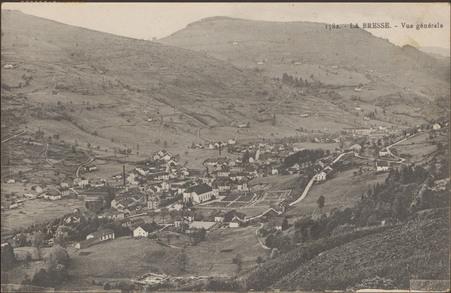 La Bresse, Vue générale
